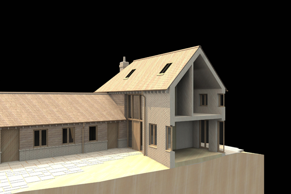 family home, green belt home, section model, artlantis