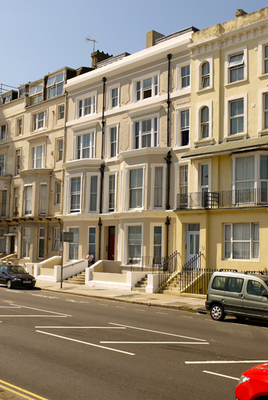 conversion, student accommodation, seafront, georgian