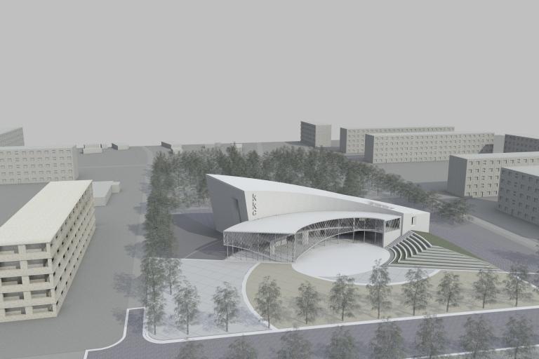 Latvia, conference centre, cultural, landscape, synergy, artlantis, vectorworks