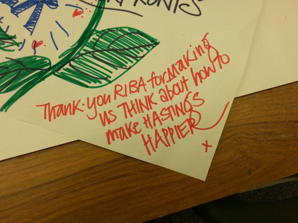 thankyou, RIBA, Hastings